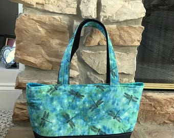 Dragonfly Tote bag or purse