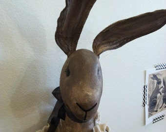 Hand Made Stuffed Toy Skinny Hare