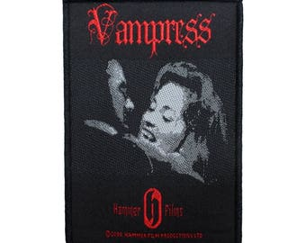 Hammer Films Vampress Patch Brides of Dracula Classic Horror Sew On Applique