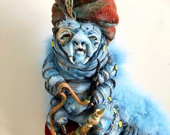 Absolem Caterpillar Faux Taxidermy | alice in wonderland | hookah | toadstool | tim burton | wall art | faux taxidermy | nursery art | kids