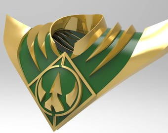 Lord Drakkon ONLY SHIELD & GUARDS  for 3D Printing