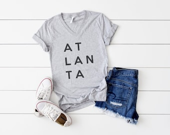 Atlanta Shirt - ATL Shirt - Atlanta T Shirt - ATLANTA Shirt