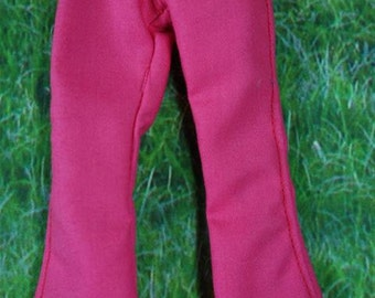 Handmade pink pants trousers for Blythe doll# 4