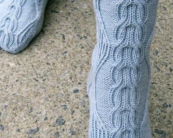 Knit Sock Pattern:  Kinsdale Socks Knitting Pattern