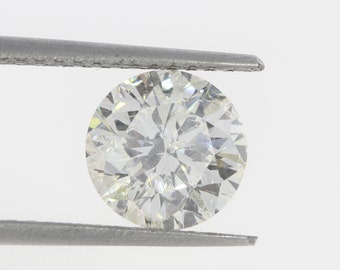 3.03 Carat Round Brilliant  I\SI2 9.23 mm Loose Diamond For Sale Free Shipping