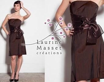 Tulip Brown cocktail dress