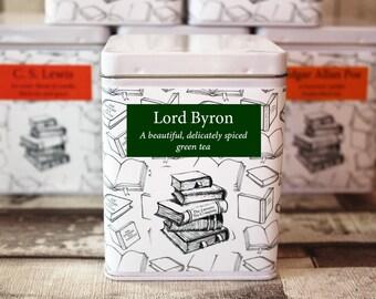 Lord Byron Inspired Tea - Literary Tea Collection - Tea Gift - Literary Tea Gift - Bookish Gift - Author Gift- Loose Leaf Tea - Tea