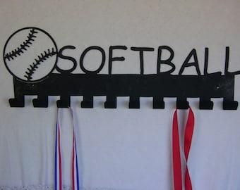 Softball Medal Display hooks