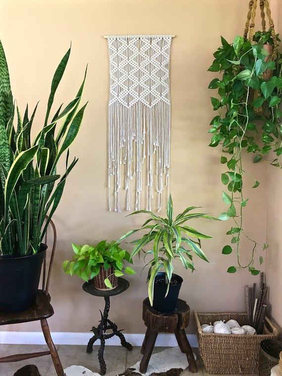 Art Deco Macrame Wall Hanging (Small)