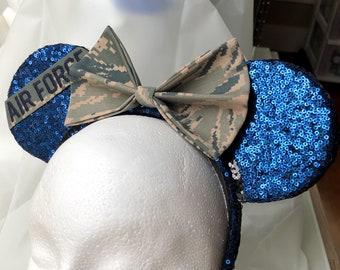 US Air Force ABU Ears headband