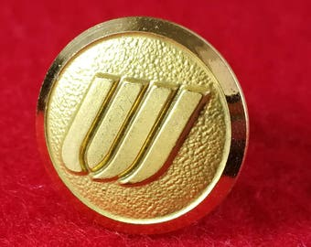 United Airlines uniform button Pin