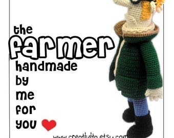The Farmer - handmade by me for you