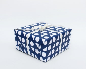 Toy Box Wrapping Paper - Blue