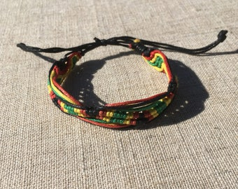 Rastafarian Bracelet/Anklet RLW757