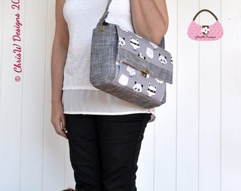 Handbag PDF Sewing Pattern - The Minifacto by ChrisW Designs