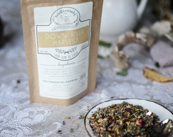 Down River Harvest Handcrafted Tea W/ Ginkgo and Gotu Kola | Detox | ORGANIC | Winterwoods Tea Company Loose Leaf Blend