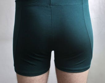 Emerald Green Boxer bamboo Jersey (small production)
