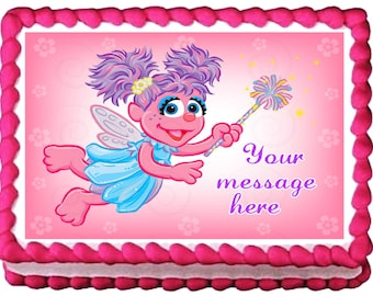 ABBY CADABBY Party Edible cake topper image