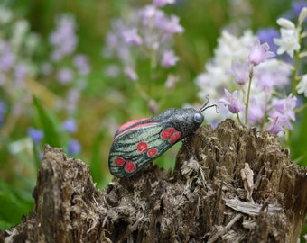 Six Spot Burnet Moth Ornament