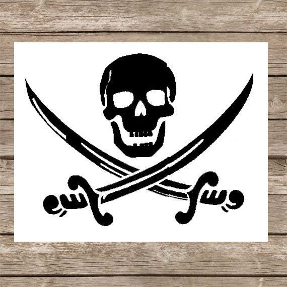 Pirate Svg Skull Svg Cut File Pirate Caribbean Jack Sparrow