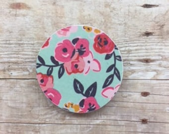Spring Floral Magnets - Set of 9