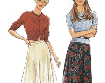 Simplicity New Look 6454 Sewing Pattern Misses Skirt Sizes A 8-18  Used