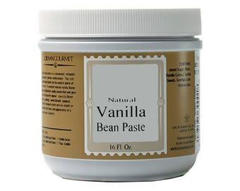 Vanilla Bean Paste, Natural 16 oz, by LorAnn