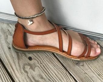 Handmade anklets