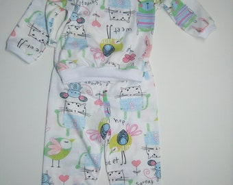 Pajamas for boy or girl (different sizes)