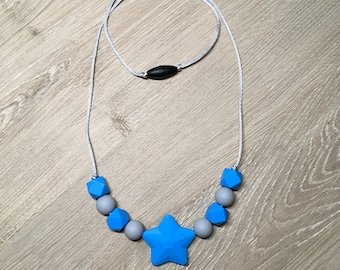 Silicone Beaded Teething Necklace