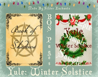 BOS Pages - Yule: Winter Solstice (White)