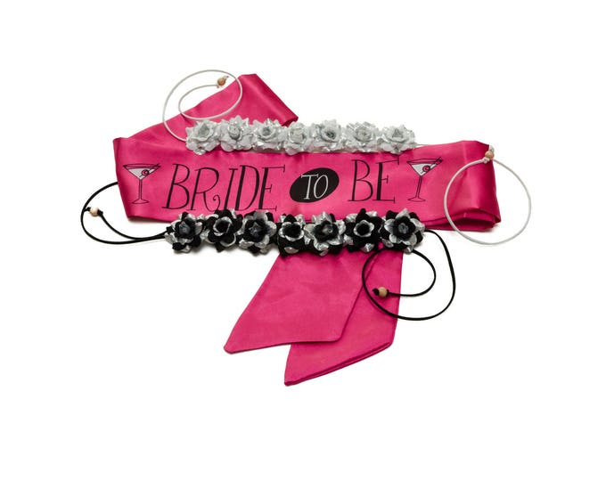 Bachelorette Party Flower Crown