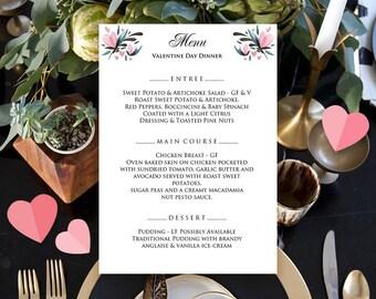 Bar menu, Menu design, Menu sign, Menu template, Dinner menu, Restaurant menu, Valentine's day menu, Menu template, Printable dinner menu