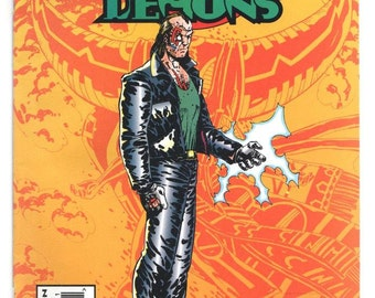 Dances with Demons - Issue 2 - Oct 1993 - Modern Age - NM/MT - Marvel Frontier Comics UK