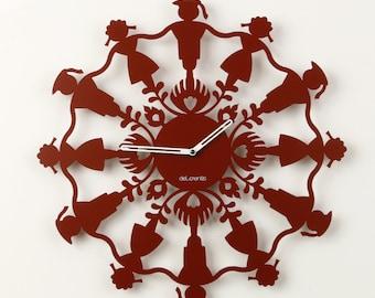 Clock Polish Folk