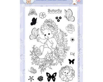 Angel and Butterfly - TMH970103 stamp