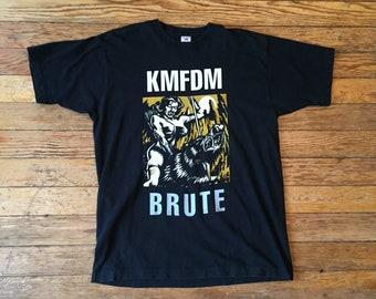 1990s KMFDM Brute Vintage T-Shirt