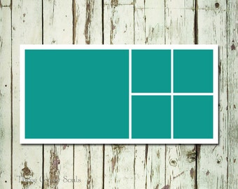 10x20 Storyboard Template Photo Collage Template Layered PSD Photographer Template
