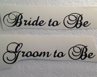 DIY Personalized Vinyl Decals/Stickers,  Bridesmaid, Maid of Honor Make Your Own Wedding Glasses