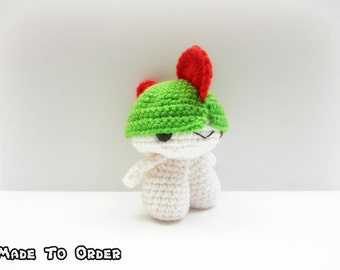 Crochet Ralts Inspired Chibi Pokemon