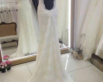 Backless wedding dress , Wedding dress Naomi