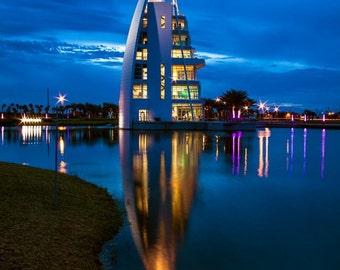 Travel Port Canaveral Florida Exploration Tower Destination - Fine Art Photograph Print Picture