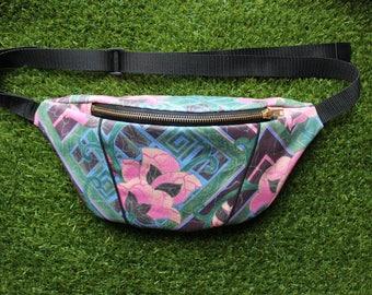 Handmade Vintage Floral Bumbag /Fanny Pack / Festival Bag