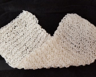 Womens Gift , Soft Scarf , White Scarf , Winter Scarf , Scarves , Christmas , Stocking Stuffer , Gifts under 10 , Winter Wear , Xmas