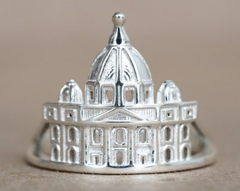 St. Peter's Basilica - Vatican Ring - Mothers Day Gift - Gift Ideas - Ring for Women - Shekhtwoman