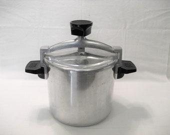 Wear Ever 6 Quart Chicken Bucket Low Pressure Fryer Vintage 1970s Chicken Fryer