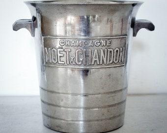 Superb Moët & Chandon advertising champagne bucket/cooler. 1