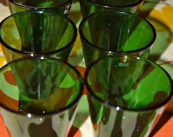 Beautiful rich green Iittala votives.  Finland
