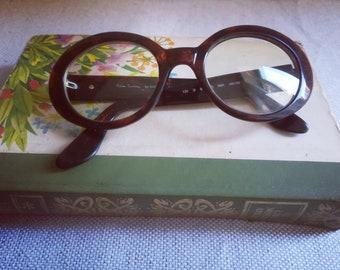 PIERRE CARDIN by Safilo Woman Butterfly GLASSES Vintage 80 Dark Havana Tortoise Eyeglass Frame 8108/S 9BK
