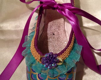 Mermaid's Tale...Decorated Pointe Shoe